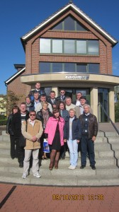 Экскурсия с группой магистрантов по заводу Grimme (Германия)